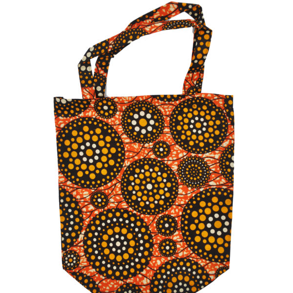 African Cloth Shopping Bag