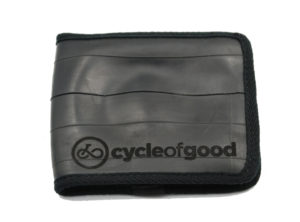 Christmas Gift Idea 5 - Recycled Inner Tube Wallet