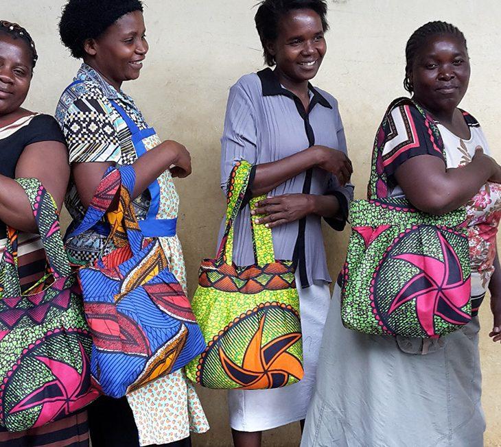 Malawi African Bag team