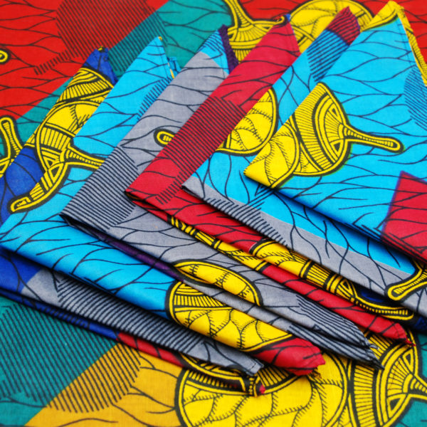African Table Cloth set