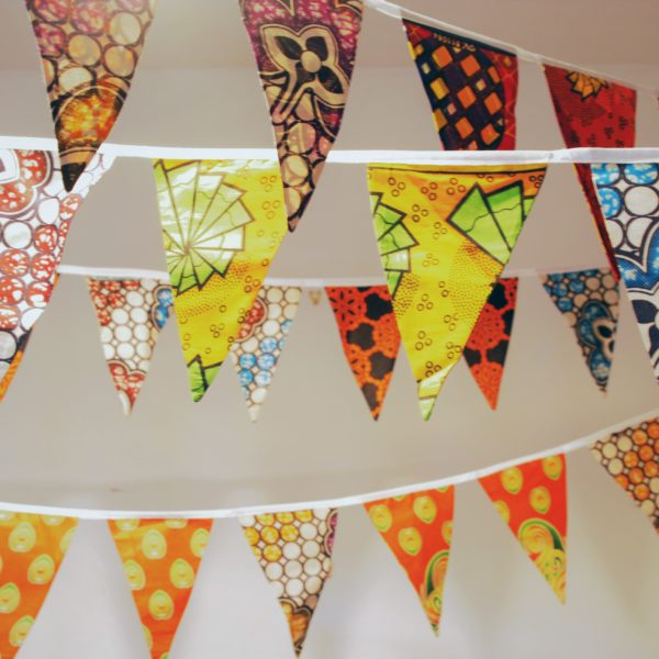African Cloth Bunting