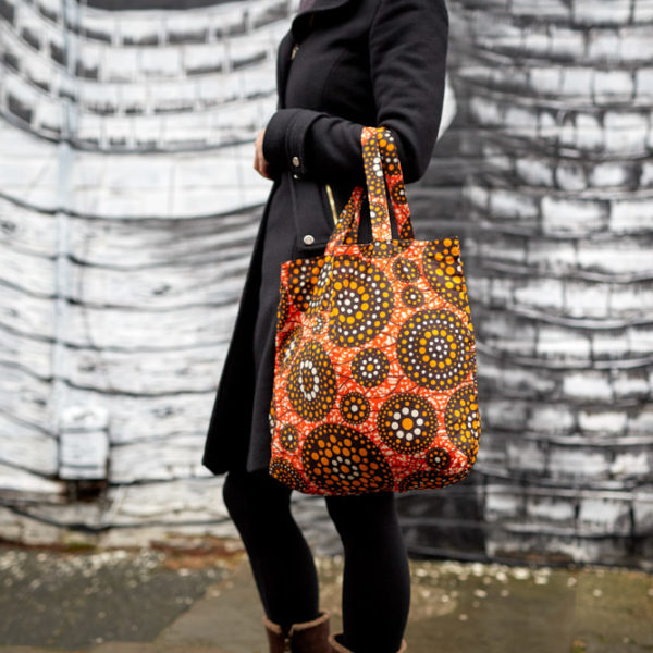 African Cloth Bag