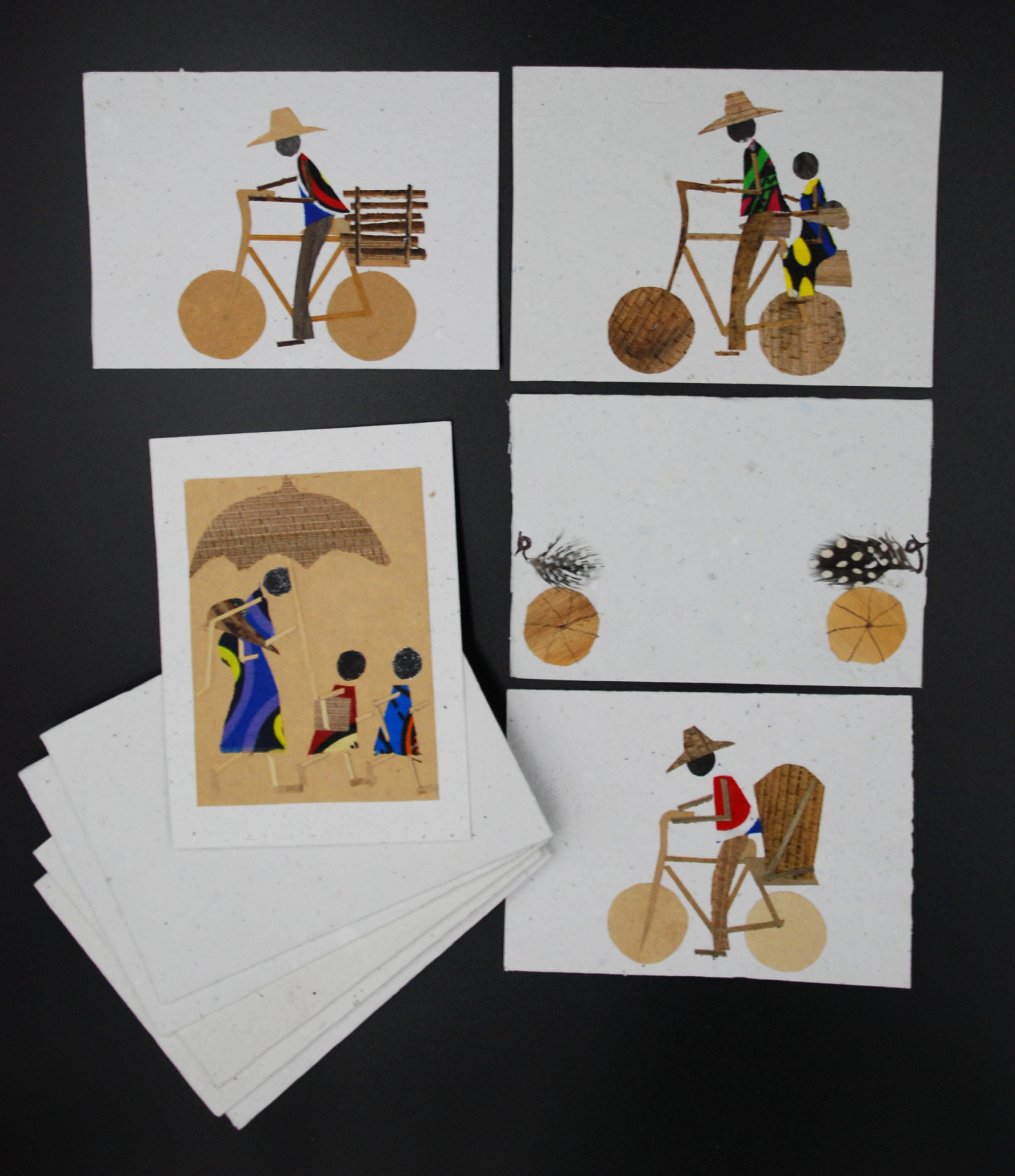 Recycled Banana Paper Greetings Cards - Cycle Of Good