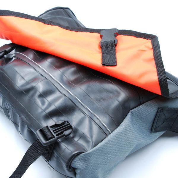 Recycled Inner Tube Messenger Bag