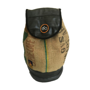 Recycled Coffee Sack Duffle