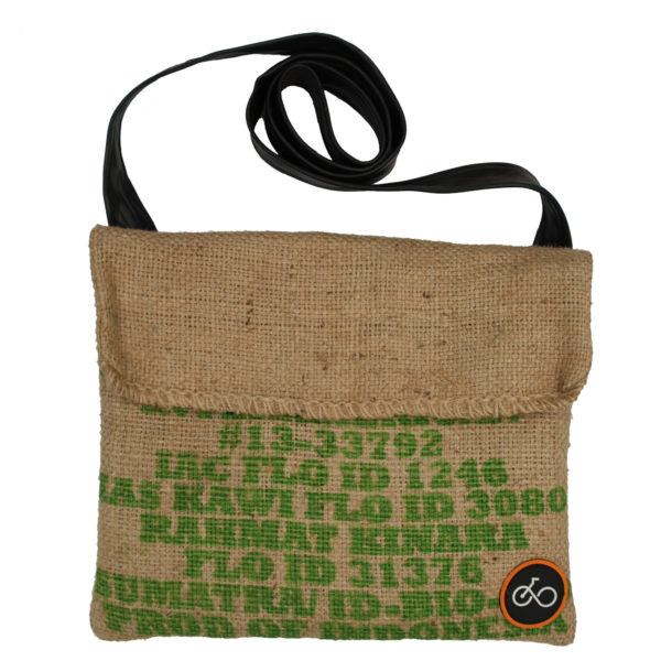 Inner Tube Coffee Sack Musette