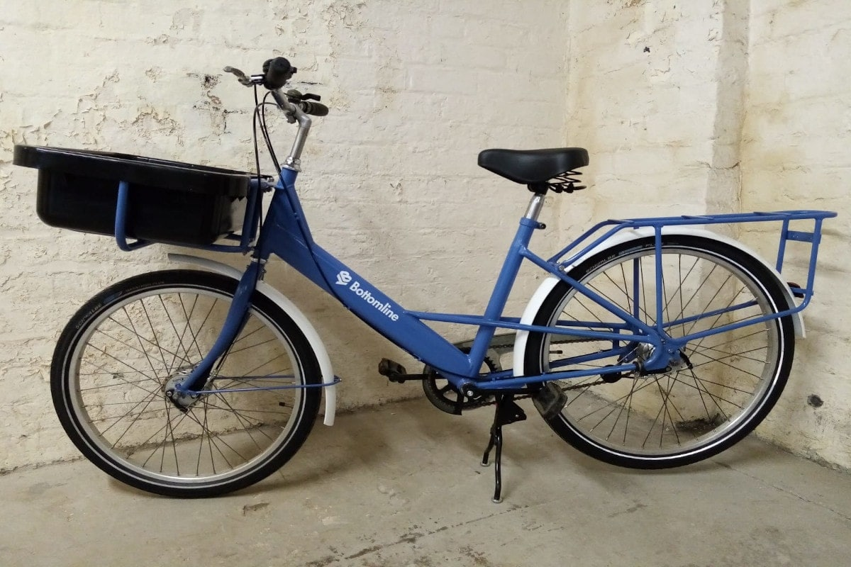 bottomline customised bike