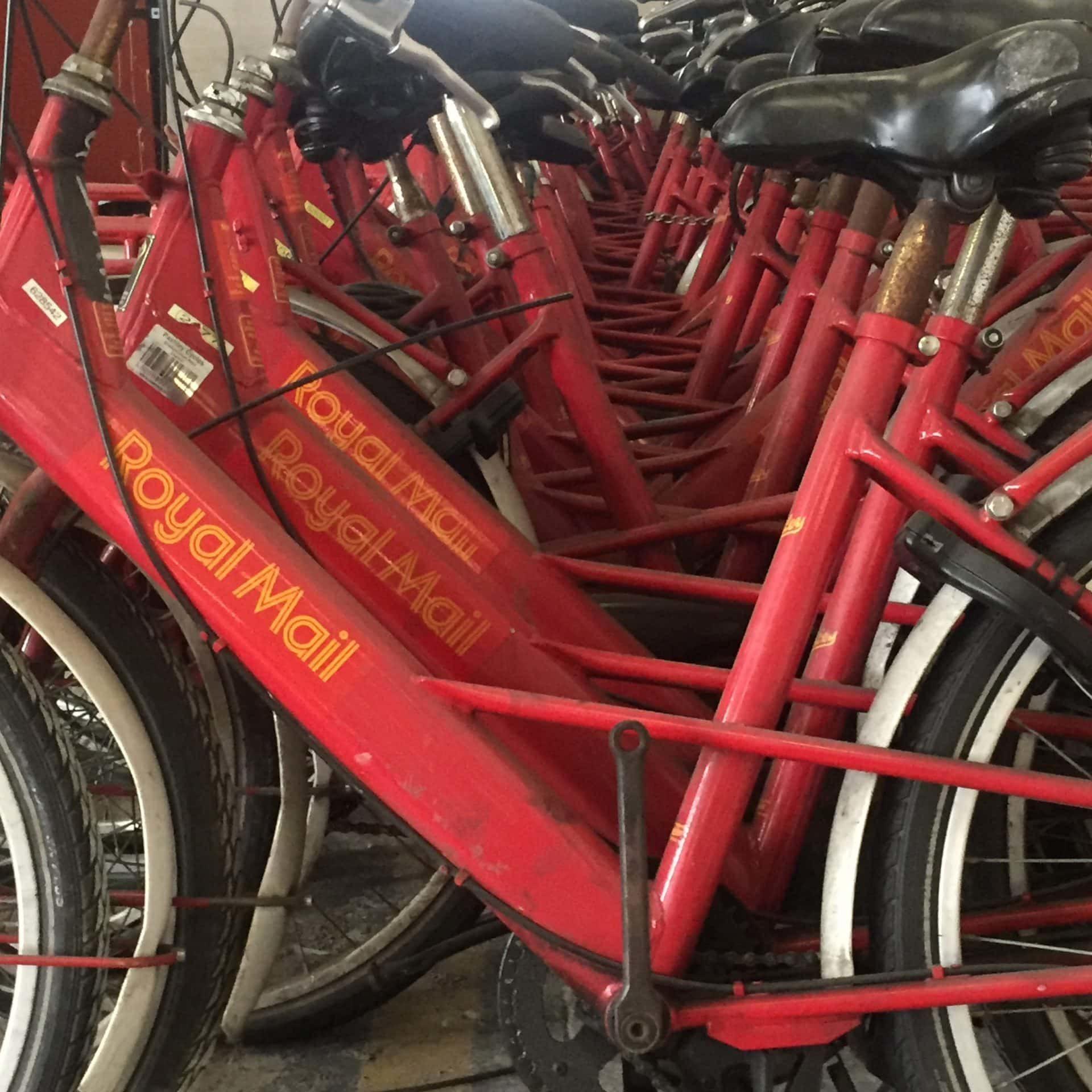 royal mail bikes